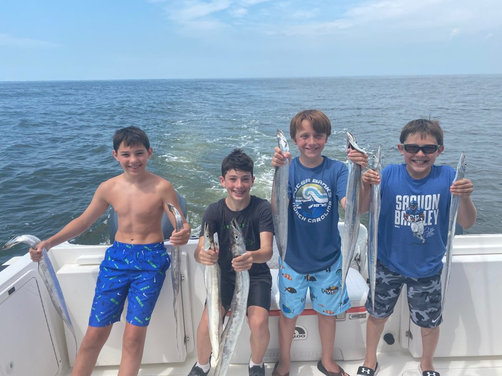 outer banks inshore fishing trips